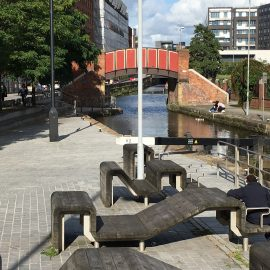 Waterway seating